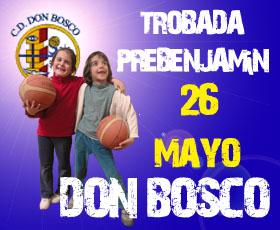 Trobada prebenjamín en Don Bosco