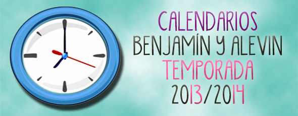 Calendarios de competición 13/14