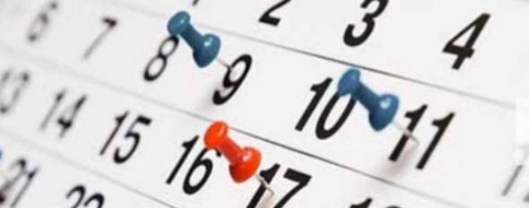 Calendarios de competición 18/19