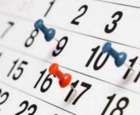 Calendarios de competición