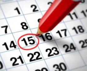 Calendarios de la segunda fase